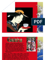 """Geisha,"" is the Most Familiar Term To"