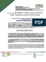 Contrato Entre Julio Hdz y Gob SLP