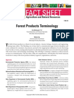 Forest Products Terminology