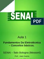 Aula 01 Fundamentos Eletrotécnica