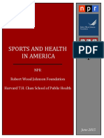 Sports and Health in America Poll