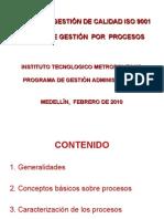 (2) Enfoque Por Procesos (2009)