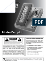 Whammy Manual 5004544-A-French Original
