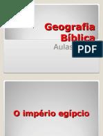Geografia Bíblica Aulas 1 e 2