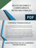 Negociaciones y Compromisos Internacionales
