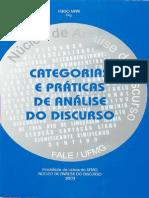 Categorias e Práticas de Análise Do Discurso - Hugo Mari