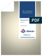 Manual Do Produto CDB
