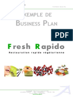 Business Plan Exemple Freshrapido