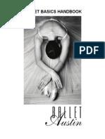 Ballet Austin Ballet Basics Handbook