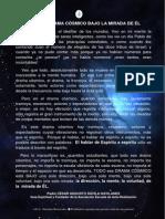 P. Dávila (El Gran Drama Cósmico Bajo La Mirada de Él)