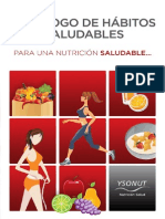 Decalogo Habitos Saludables Ysonut