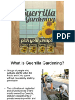 Guerrilla Gardening Handout