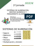 SISTEMAS DE NUMERACIÓN, SENTIDO NÚMERICO Y PENSAMIENTO ALGEBRAICO