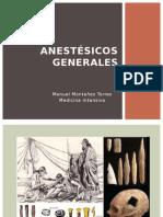 1.Anestésicos Generales Montañez
