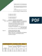 Calculo de Dimensionamento Da Bomba e Laboratorio