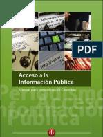 Periodismo Acceso Nformación Pública