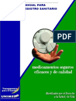 Bolivia Manual de Registro Sanitario