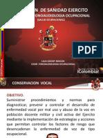 Conservacion de Voz
