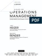 Principles of Operation Management