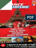 Brochure France Tourisme