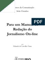 Cadernos da Comunicação - Manual de redação do jornalismo online