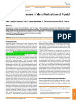 Oxidative processes of desulfurization of liquid fuels
