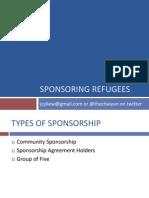 Group of 5 Refugee Sponsorship Presentation