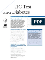 The A1C Test and Diabetes