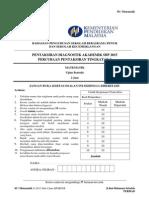 Percubaan PT3 Tahun 2015 Matematik - SBP