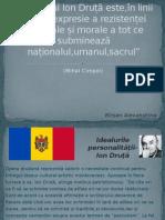 Opera Lui Ion Druță Este,În Linii