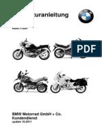 Werkstattbuch BMW r850r