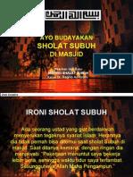 Misteri Sholat Subuh