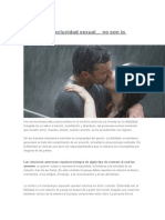 Fidelidad y Excluvidad Sexual