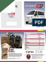 Dfsk Van c37x9 Puestos