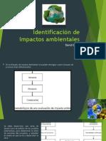 Identificación de Impactos Ambientales