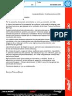 Protocolo Calidad Peugeot - Citroen