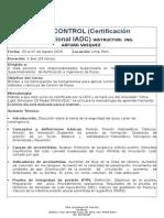 Well Control Certificacion IADC LIMA AGOSTO
