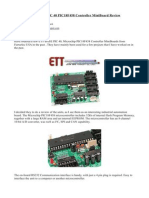 ETT BASE PIC 40 PIC18F458 Controller MiniBoard Review