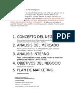 Roles de Participación en Plan de Negocios