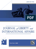 Journal of Liberty and International Affairs | Vol. 1, No. 2 | 2015