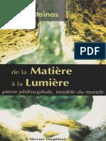 Patrick Burensteinas - De La Matière à La Lumière