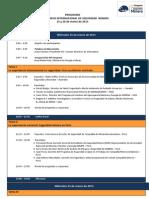 Programa Del 1er Congreso Internacional de Seguridad Minera