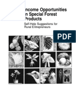 Income Opportunities in Special Forest Products for Rural Entrepreneurs