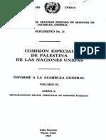 Reporte a La AG III Español
