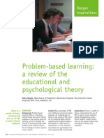 problem-based learning a review