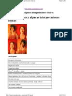 Gestos e Interpretaciones