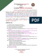 Modelo de Acta Para Representacion Legal