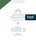 Procesos Productivos Costos II
