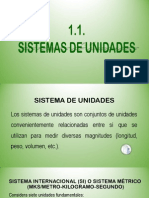 1.1. Sistema de Unidades