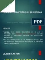 HERIDAS Y CICATRIZACION DE HERIDAS.pptx